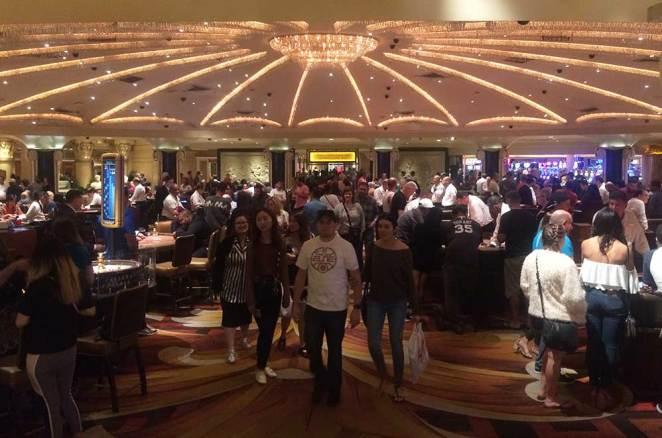Salle de Blackjack du Bellagio, casino de Las Vegas
