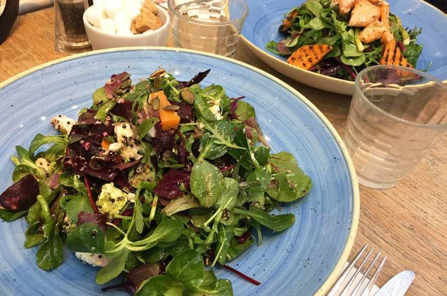 Plats du déjeuner Clifton Nurseries, Londres