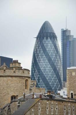 Building du quartier d'affaires de La City, Londres