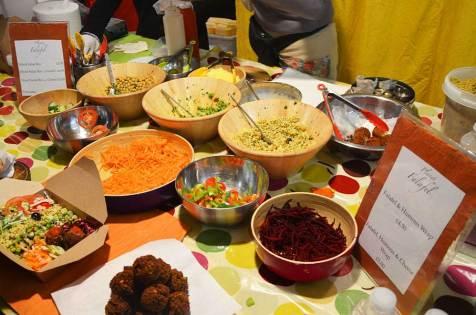 Planet Falafel, marché gastronomique de Brick Lane, Londres