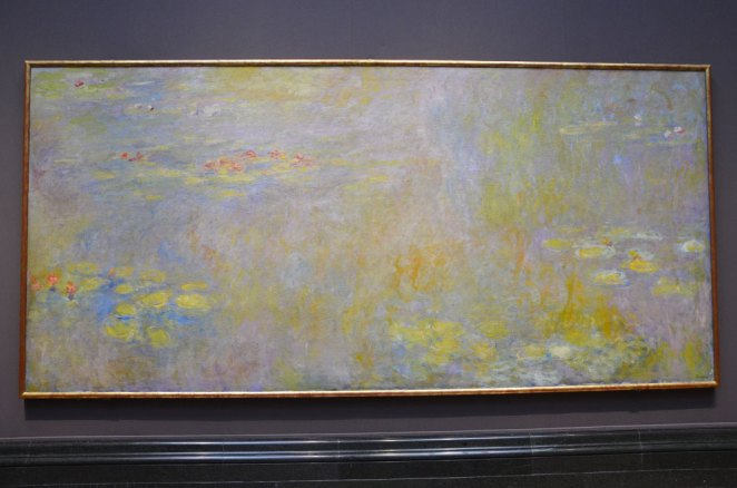 Tableau les Nymphéas de Monet, National Gallery, Londres
