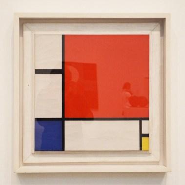 Tableau de Mondrian, Tate Modern, Londres