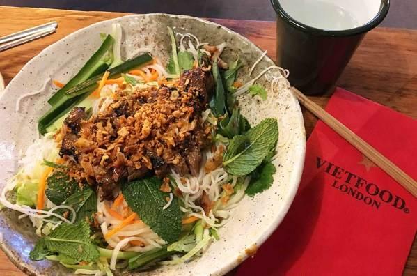 Bo Bun du restaurant Viet Food, Londres