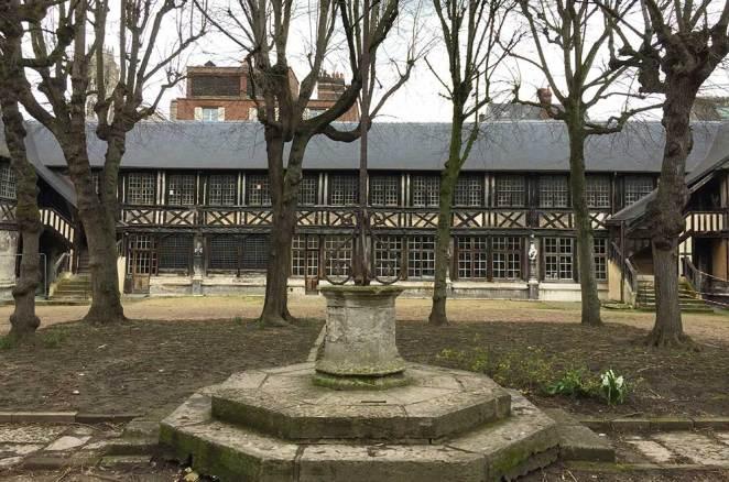 Aître Saint-Maclou, Rouen, Normandie