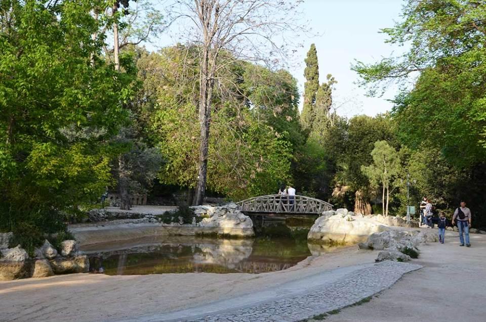 Jardin national, Athènes, Grèce