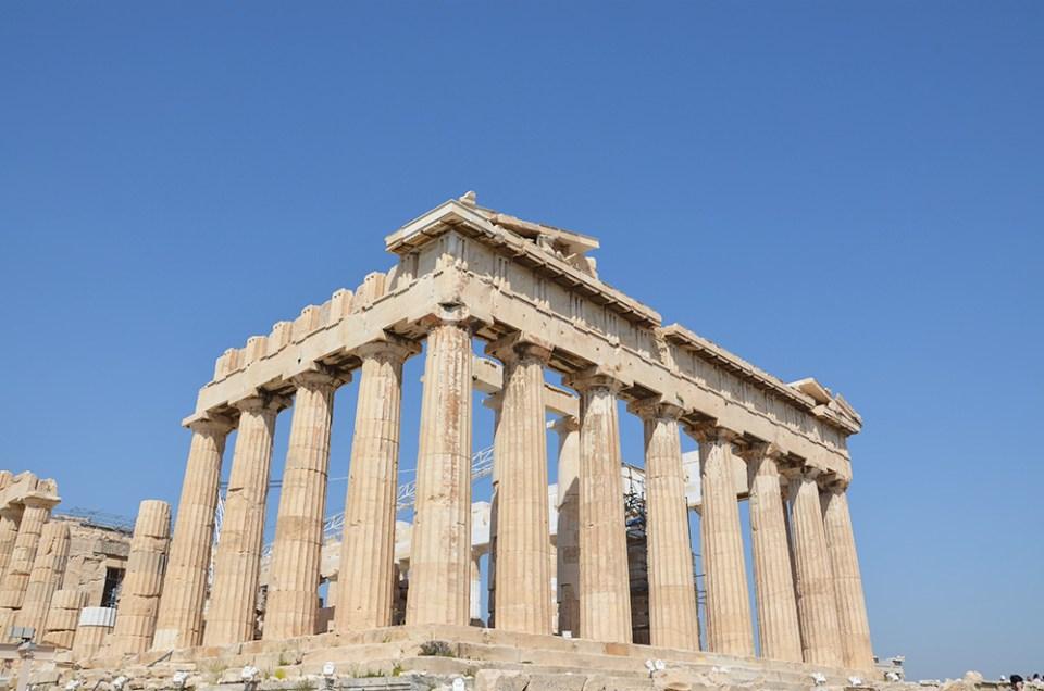 Parthénon, Acropole, Athènes, Grèce