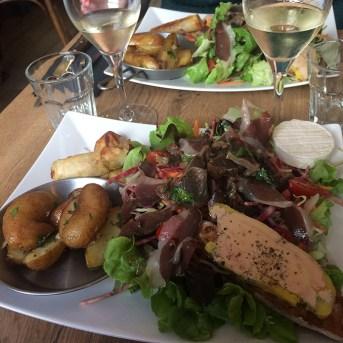 Déjeuner à Sarlat