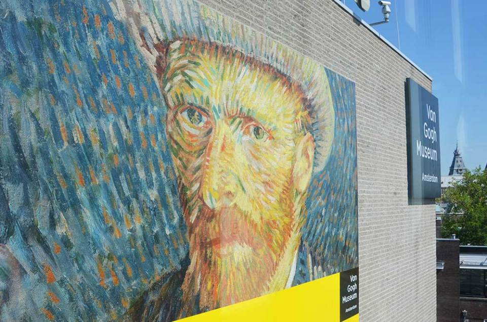 Façade du musée Van Gogh, Amsterdam