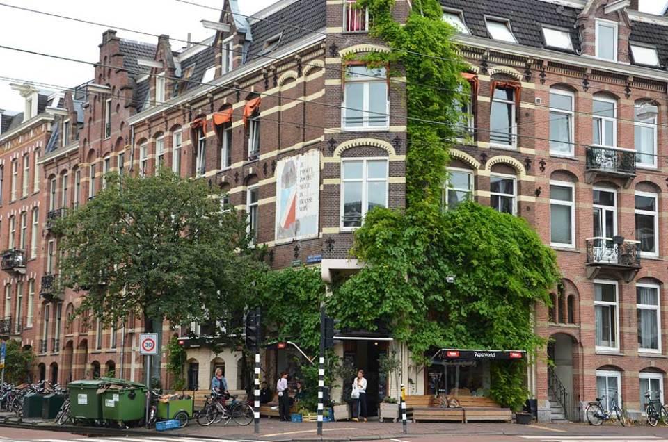 Façades des maisons typiques d'Amsterdam