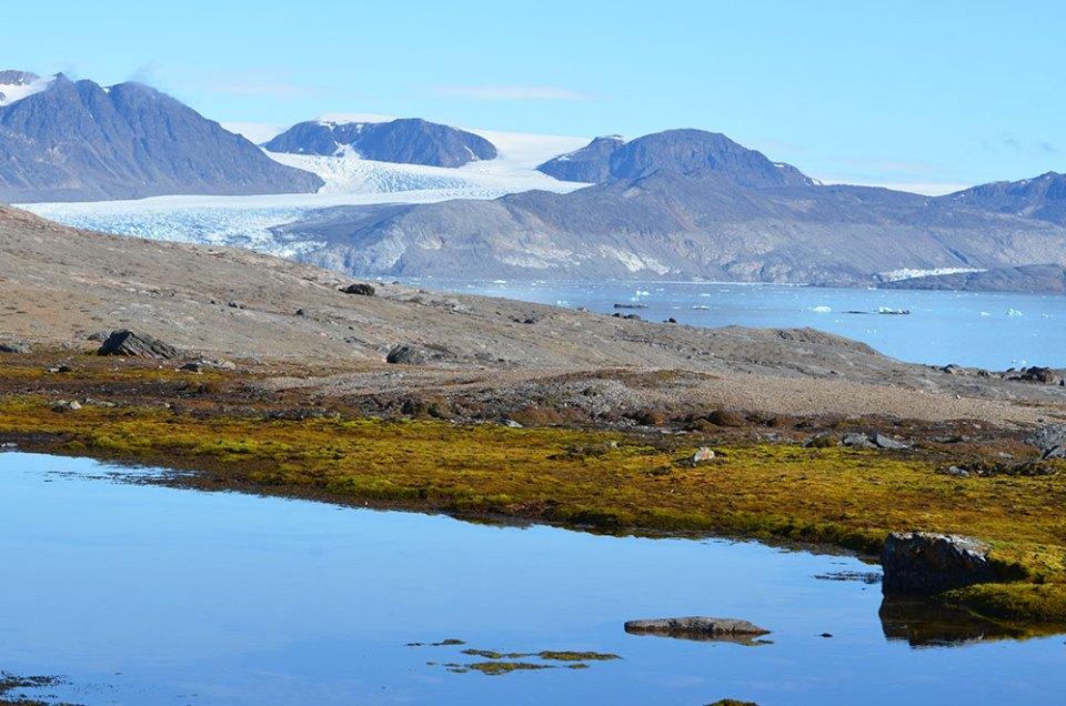 Les couleurs magiques de la Baie du Roi, Svalbard