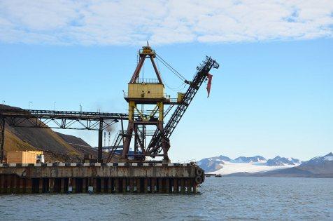Mine de charbon de Barentsburg, Spitzberg