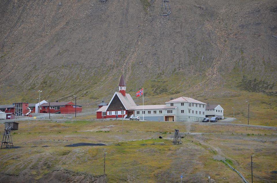 Eglise de Longyearbyen, Svalbard