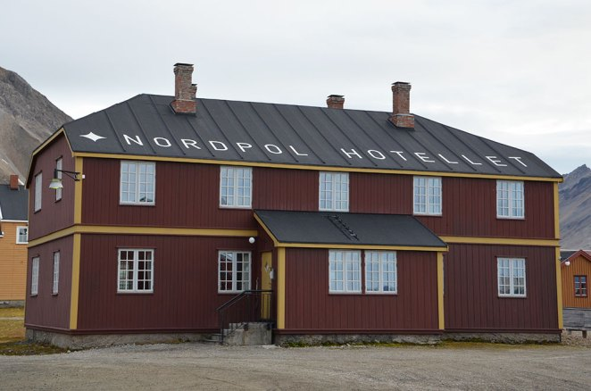 NordPol Hotel de Ny-Ålesund, Spitzberg