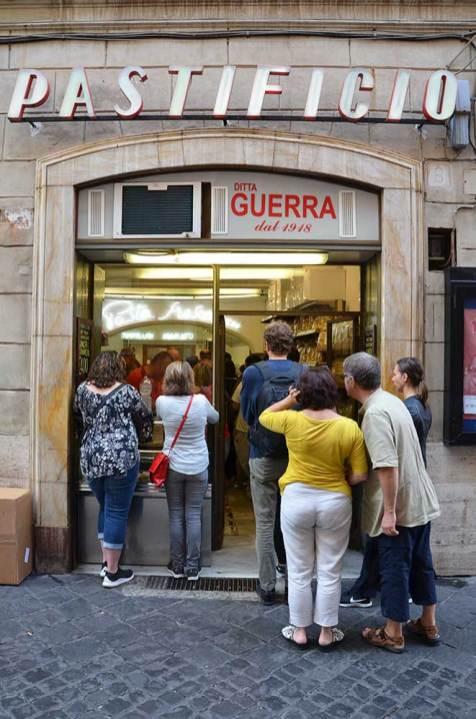 Pastificio, restaurant de pâtes à emporter, Rome, Italie