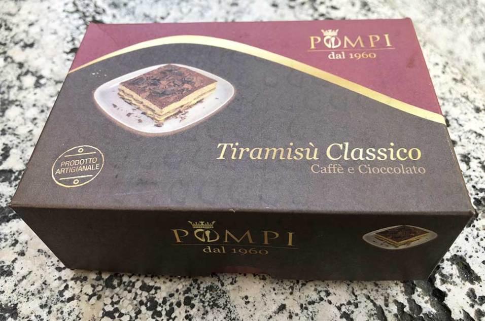 Tiramisu Pompi, Rome, Italie
