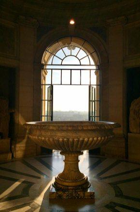 Fenêtre ouverte, Vatican, Rome, Italie