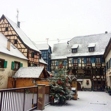 Jolies maisons à Colombages d'Eguisheim, Alsace