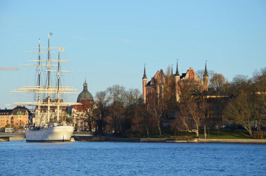 Vue sur Stockholm de jour, Suède
