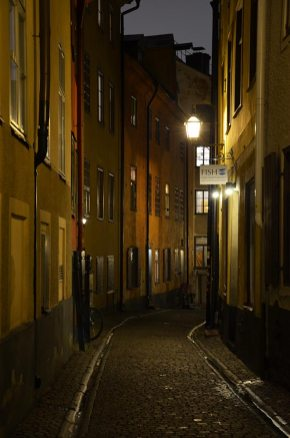 Ruelle de Gamla Stan, Stockholm, Suède