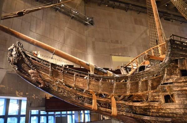 Bateau du Musée Vasa, Stockholm, Suède