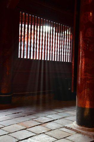 Temple à Hanoi, Vietnam