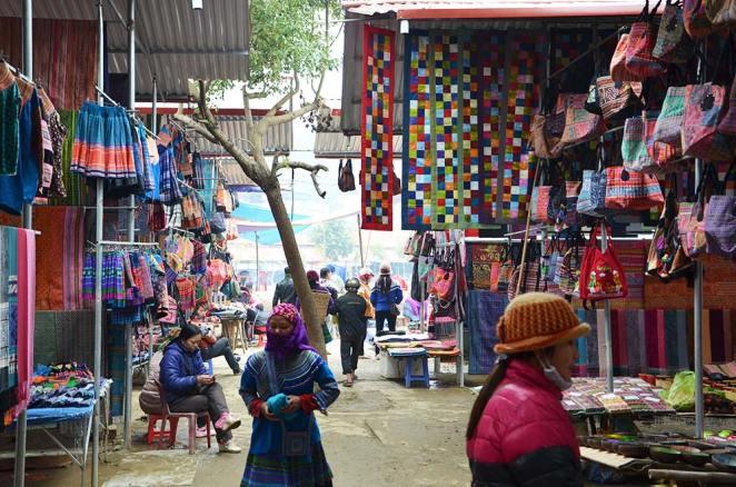Marché Bac Ha, Vietnam
