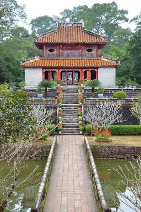 Tombeau de Minh Mang, Hué, Vietnam