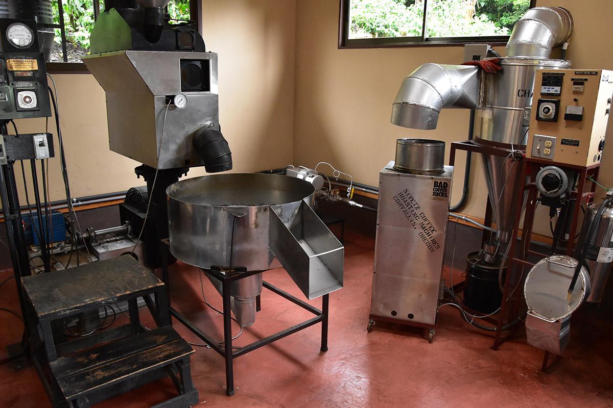 Machines de Café de Monteverde, Costa Rica