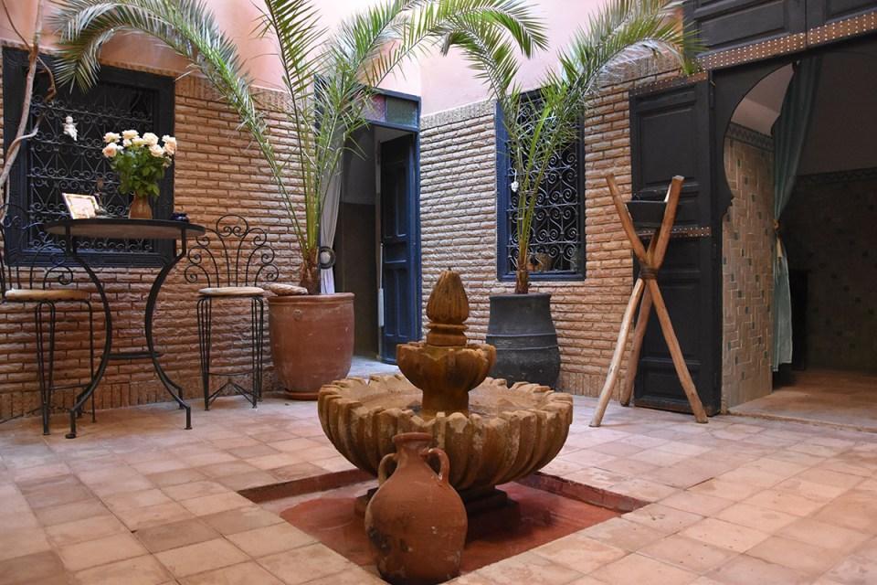 Patio du Riad des Drôles, Marrakech