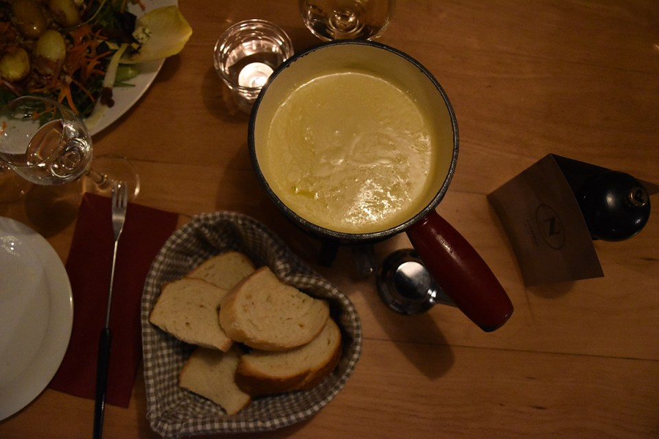 Fondue Suisse au Café du Nord de Champéry