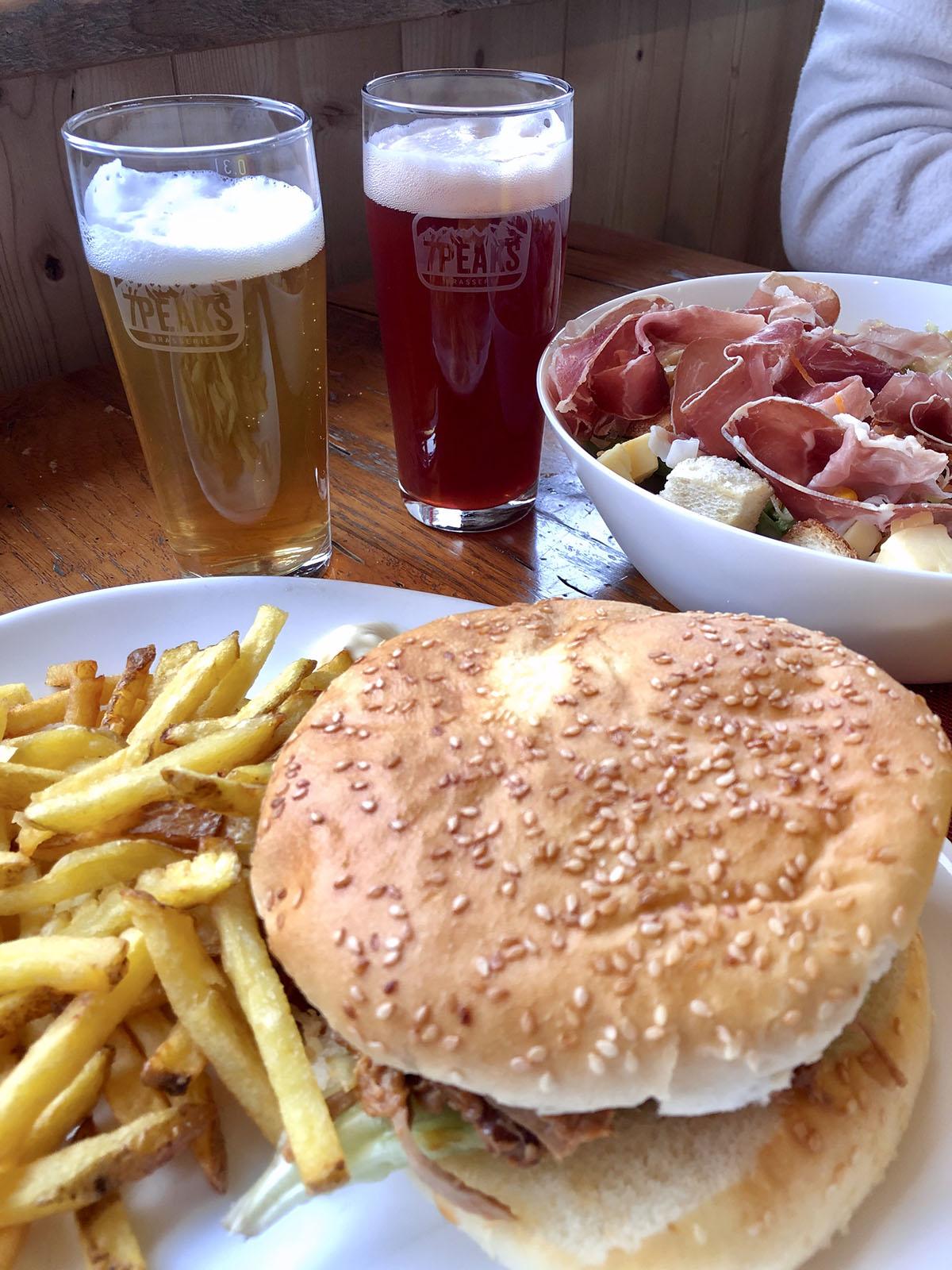 Restaurant Là ô, Morgins, Porte du Soleil, Suisse