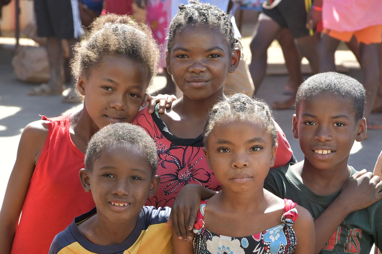 Enfants de Madagascar