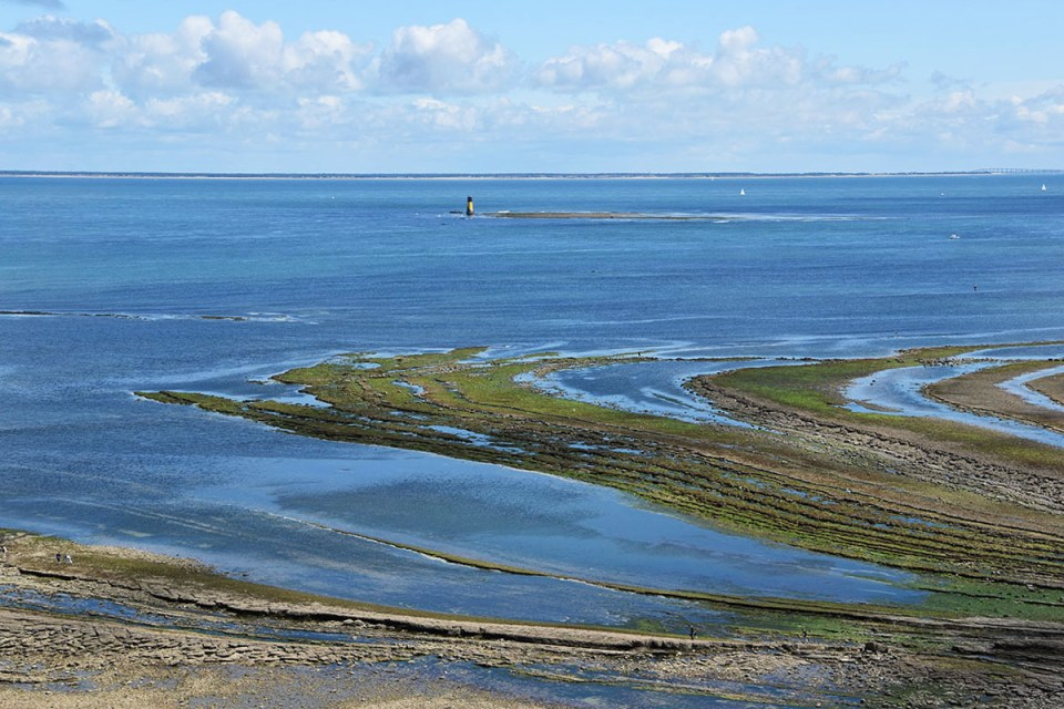 Vue sur la mer depuis le Phare de Chassiron, Ile d'Oléron