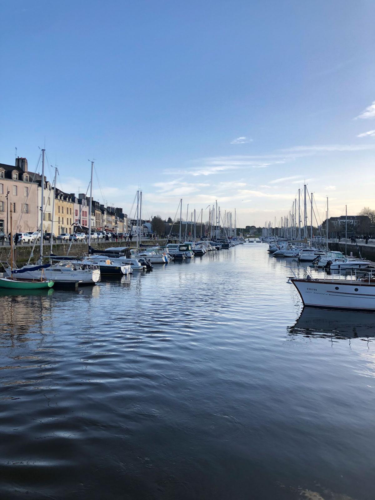 Le Port de Vannes, Morbihan, Bretagne