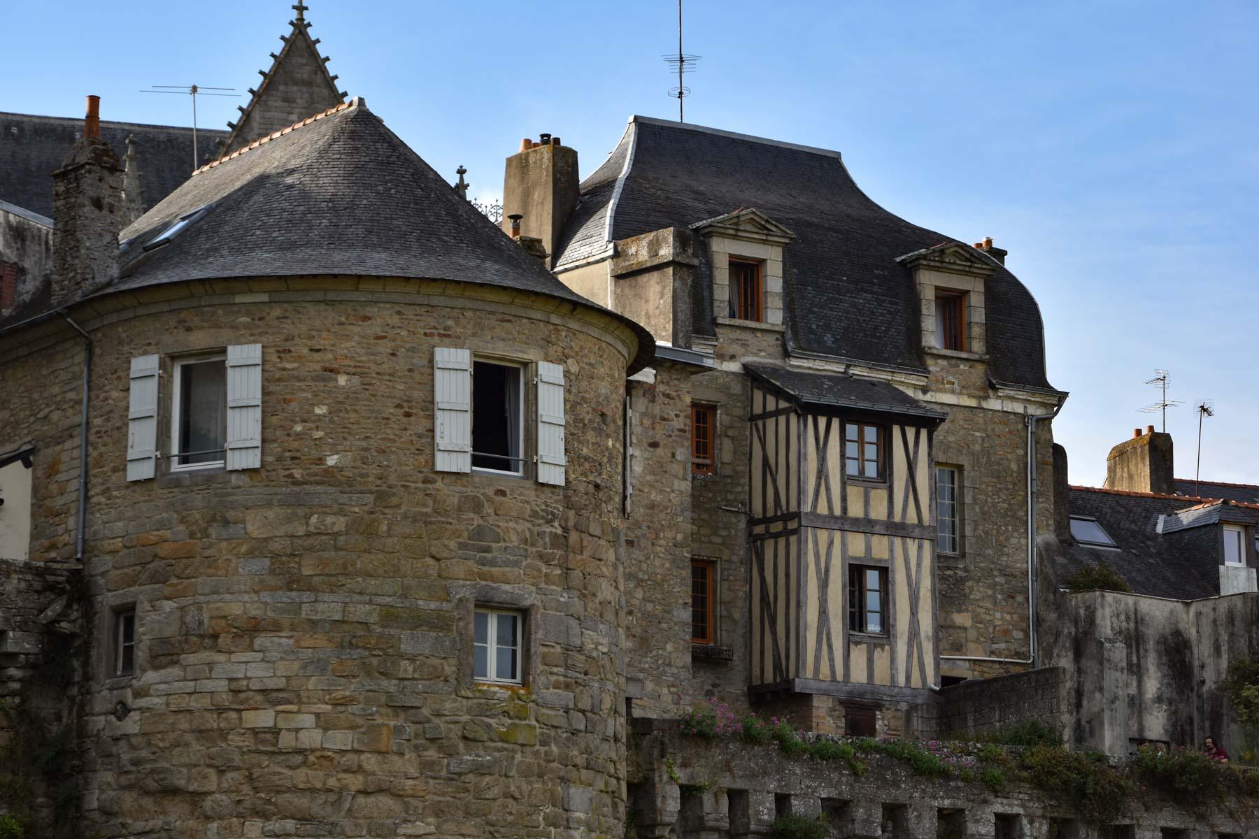 Remparts, Vannes, Morbihan, Bretagne