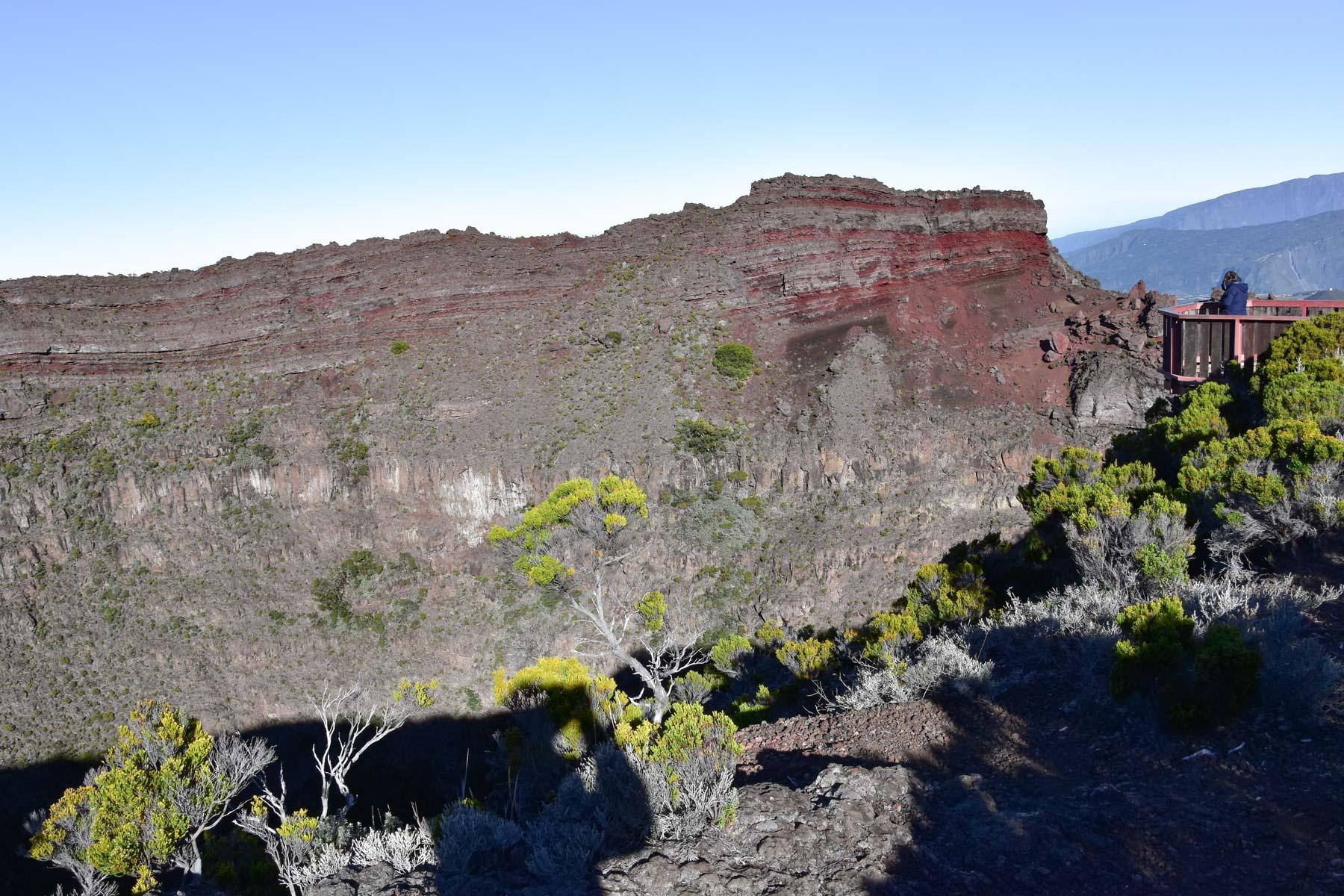 Cratère Commerson, La Réunion