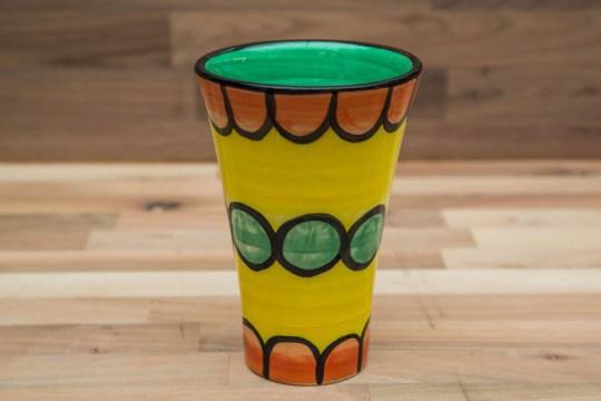 Fruity small vase in Orange
