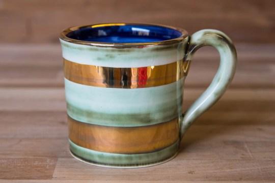 Lustre Horizontal wide mug in no.09