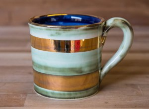 Lustre Horizontal wide mug in no.09