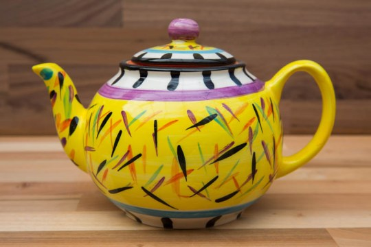 Splash extra large Teapot in Yellow