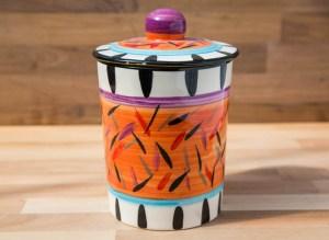 Splash orange Reckless Designs