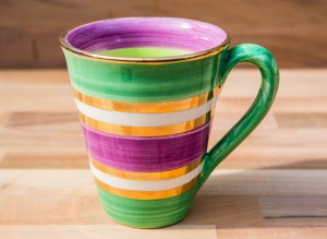 Lustre Horizontal large tapered mug in no.03