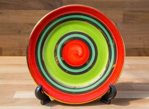 Lustre Horizontal 11″ dinner plate in No.02