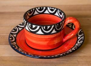 Aztec red Reckless Designs