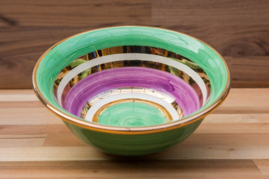 Lustre Horizontal cereal bowl in No.03