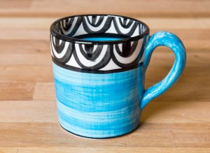 Aztec bright blue Reckless Designs