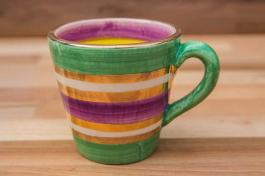 Lustre Horizontal small tapered mug in No.03