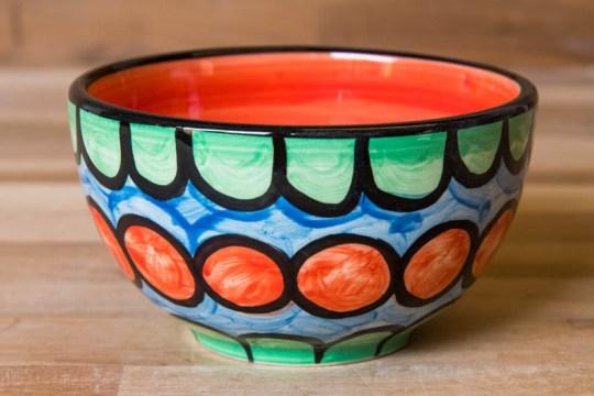 Fruity sugar bowl in Green