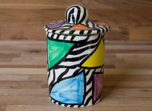 Carnival Safari tea caddy