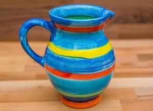 Horizontal Stripey blue Reckless Designs